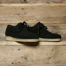 Clarks Originals Weaver Suede Black