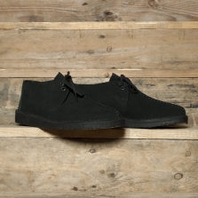 Clarks Originals Desert Trek Suede Black