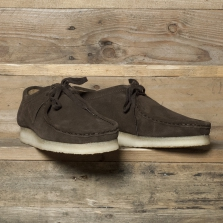 Clarks Originals Wallabee Suede Dark Brown