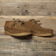 Clarks Originals Wallabee Suede Cola