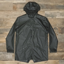 Rains Waterproof Jacket Black