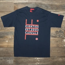 80s Casuals 80s New Order T Navy