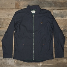 Fred Perry J8233 Wiggins Bomber Jacket Navy