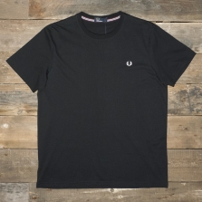 Fred Perry M6334 Crew Neck T Shirt Black