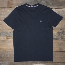 Fred Perry M6334 Crew Neck T Shirt Navy