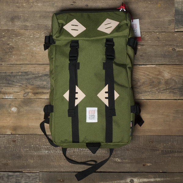 Topo Designs Klettersack Olive – The R Store 44284d9989266
