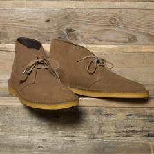Clarks Originals Desert Boot Suede Cola