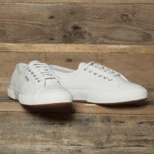 Superga 2750 Efglu Leather Classic White