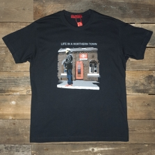 80s Casuals 80s Piccadilly Station T Shirt Navy