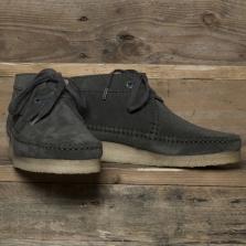 Clarks Originals Weaver Boot Suede Charcoal