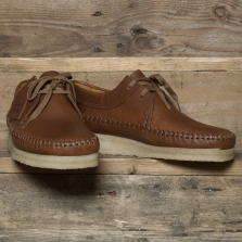 Clarks Originals Weaver Leather Tan
