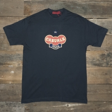 80s Casuals 80s Prague T Shirt Navy