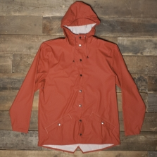 Rains Waterproof Jacket Rust