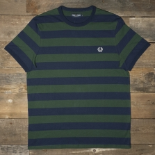 Fred Perry M7254 Striped Ringer T Shirt Ivy