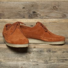 Clarks Originals Weaver Suede Rust