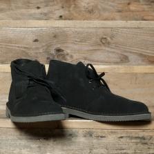 Clarks Originals Desert Boot Gtx Suede Black