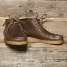 Clarks Originals Wallabee Boot Horween Leather Camel