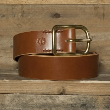 HUBB LEATHER Hubb Leather Vegtan Bridle Belt Tan