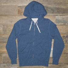 Champion Todd Snyder Ts Hooded Full Zip Sweatshirt T004 Indigo Heather