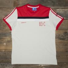 adidas Originals 83-c Tee Bk5309 Scarlet