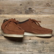 Clarks Originals Wallabee Suede Dark Tan (rust)