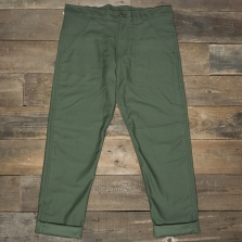 Stan Ray Slim Fit 1301 4 Pocket Fatigue Olive Sateen