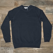 MERZ B. SCHWANEN Raglan 1/1 Sleeve Sweatshirt Dark Navy