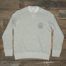 MERZ B. SCHWANEN Eskimo Print Sweatshirt Grey Melange