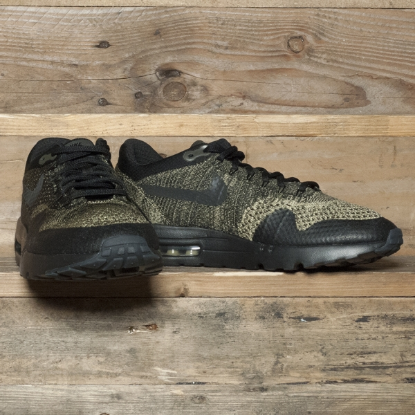 reputable site 478ed f2ed3 Nike Air Max 1 Ultra Flyknit Neutral Olive