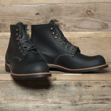 Red Wing 02955d Blacksmith 6 Boot Black Spitfire