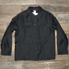 LE LABOUREUR Jacket 400 Moleskin Cotton Black