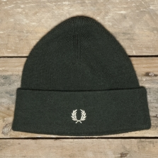 Fred Perry C9102 Merino Wool Beanie 371 Hunting Green