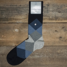 BURLINGTON Clyde 20942 Socks 6376 Navy
