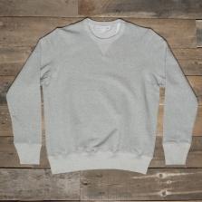 MERZ B. SCHWANEN 3s48 Heavy Crew Neck Sweatshirt 80 Grey Melange