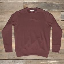 MERZ B. SCHWANEN 346 Crew Neck Sweatshirt 25 Carmine Red