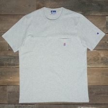 Champion Beams 210630 Beams Pocket T Shirt 3688 Loxg Grey