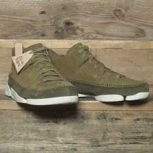 Clarks Originals Trigenic Flex Forest Green