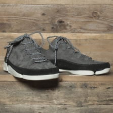 Clarks Originals Trigenic Flex 2 Nubuck Charcoal