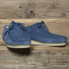 Clarks Originals Wallabee Suede Night Blue
