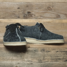 Clarks Originals Desert Trek Int Suede Black