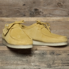 Clarks Originals Wallabee Suede Ochre