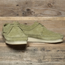 Clarks Originals Weaver Suede Forest Green
