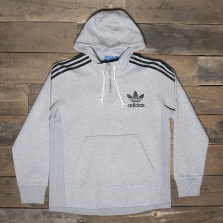 adidas Originals Bk7192 Ac Terry Hoody Grey
