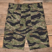 Stan Ray 6 Pocket Cargo Short Tiger Stripe Rip Stop