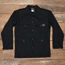Stan Ray 4 Pocket Jacket Black Rip Stop