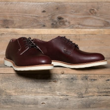 Red Wing 03117d Postman Oxford Merlot Mesa