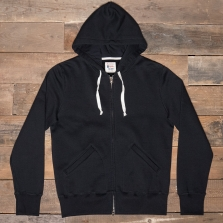 Champion Todd Snyder Ts Hooded Full Zip Sweatshirt D051x17 T075 New Black