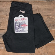 LEFTFIELD NYC Kerouac Duck Chino Washed Black
