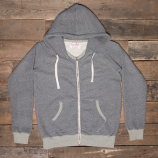 LEFTFIELD NYC Terry Hooded Sweatshirt Grey