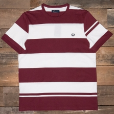 Fred Perry M2529 Bold Stripe T-shirt 122 Port